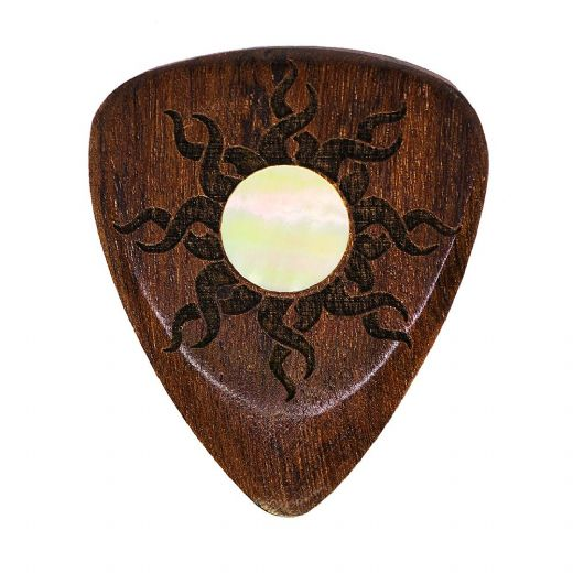 Sun Tones Indian Chestnut 1 Guitar Pick